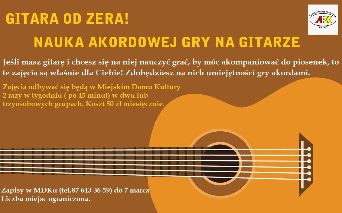 Gitara od zera